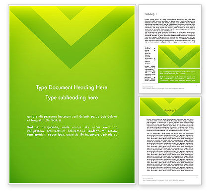 Abstract/Textures: Green Abstract Edge Word Template #13636