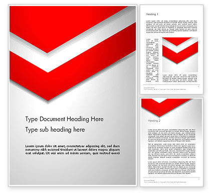 Abstract/Textures: Angle of Large Triangle Word Template #13710