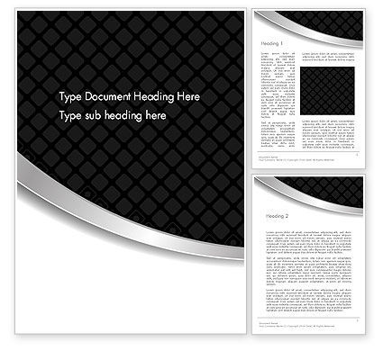 Abstract/Textures: Black and Gray Diagonal Abstract Word Template #13715