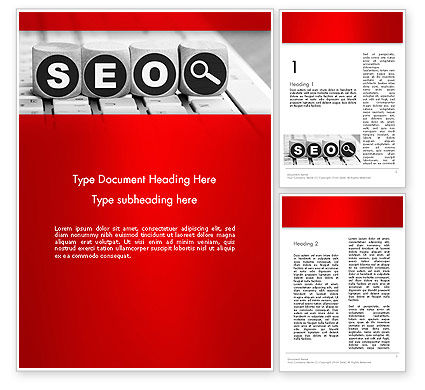 SEO Services Word Template, 13736, Careers/Industry — PoweredTemplate.com