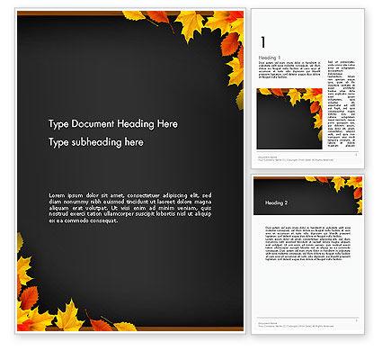 Abstract/Textures: Plantilla de Word - marco temático de regreso a la escuela #13737