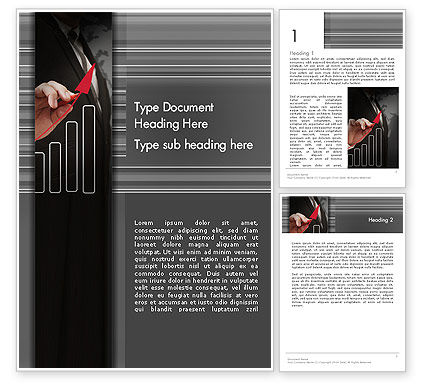 Business Approach Word Template, 13757, Consulting — PoweredTemplate.com