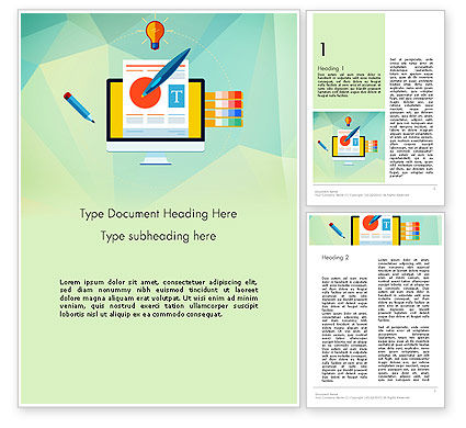 Document Design Word Template#1