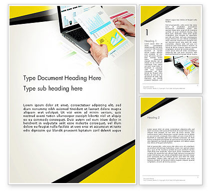 Accounting Services Word Template