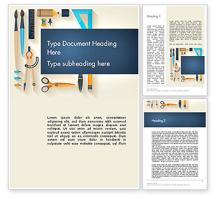 Workplace Tools Word Template