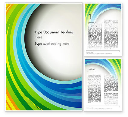 Abstract/Textures: Modèle Word de bandes de papier en couleurs arc-en-ciel #13835