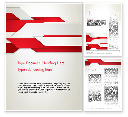 Abstract/Textures: Strips of Paper Abstract Word Template #13851