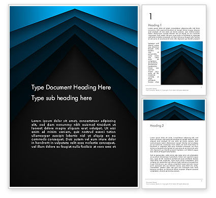 Abstract/Textures: Converging on The Horizon Lines Word Template #13864