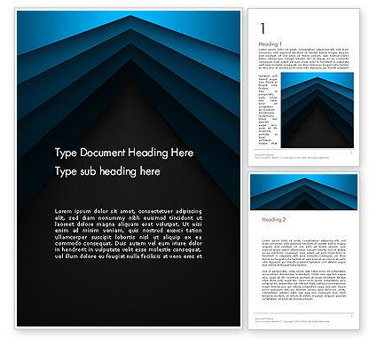 Abstract/Textures: 地平線に収束する - Wordテンプレート #13864