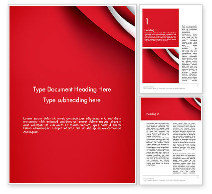 Abstract/Textures: Curves in The Corner Word Template #13959