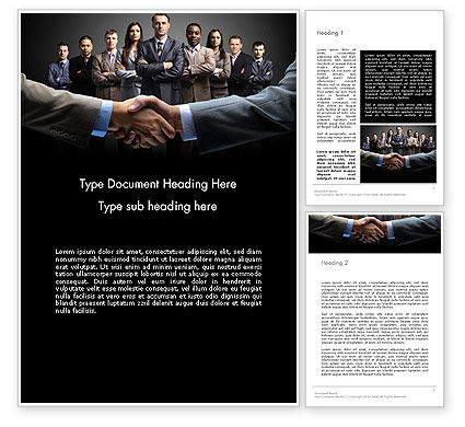 Art of Sales Word Template, 13995, Consulting — PoweredTemplate.com
