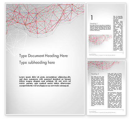 Abstract/Textures: 3D Wireframe Abstract Word Template #14062
