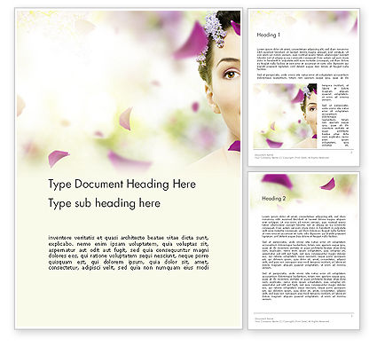 Beauty Parlor Word Template