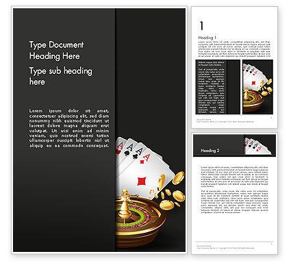 Gambling Word Template