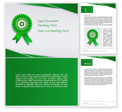 Certificate of Achievement Word Template