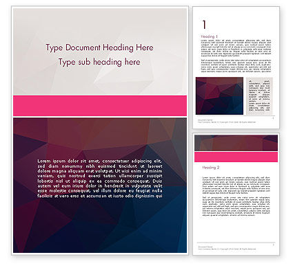 Abstract/Textures: Polygonal Surface Abstract Word Template #14318