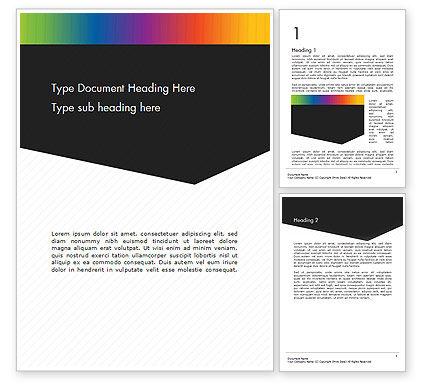 Abstract/Textures: Modelo do Word - fundo corporativo preto e branco #14586