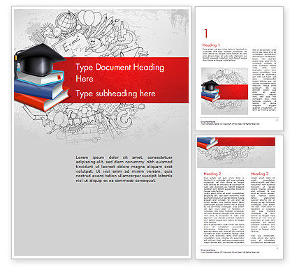 Education Theme Word Template