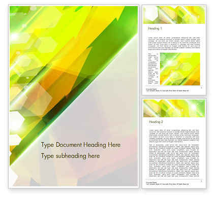 Agriculture and Animals: Abstract Background Design Word Template #14790