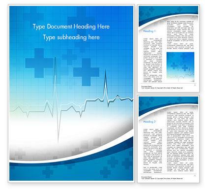 Medical: Modelo do Word - diagrama de taxa de pulso #15327