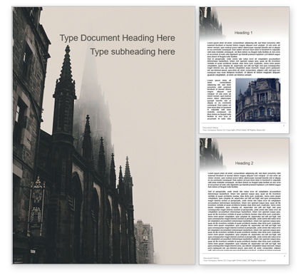 Construction: Gothic Architecture Word Template #15628