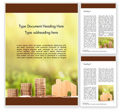 Financial/Accounting: Real Estate Investments Word Template #16060