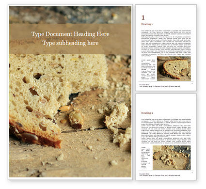 Food & Beverage: Grain Bread Presentation #16550