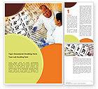 Technology, Science & Computers: Modèle Word de recherche chimique #01028