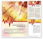 Medical: Cardiogram Word Template #01359