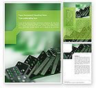 Business Concepts: Domino Word Template #01521