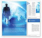 Global: Businessman Word Template #01534