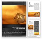 Telecommunication: Interactive World Word Template #01554