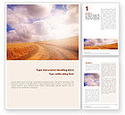 Agriculture and Animals: Fields of Gold Word Template #01584