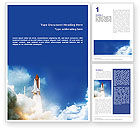 Construction: Space Research Word Template #01634
