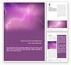 Nature & Environment: Lightning Word Template #01647