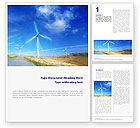 Construction: Alternative Energy Source Word Template #01652