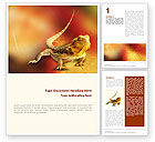 Agriculture and Animals: Reptile Word Template #01656