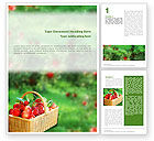 Food & Beverage: Garden Word Template #01676