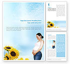 Medical: Maternity Word Template #01730