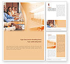 Education & Training: Discussion Word Template #01738