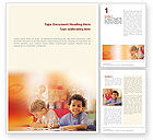 Education & Training: Basic Education Word Template #01743
