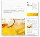 Food & Beverage: Cocktail Party Word Template #01765
