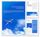 Nature & Environment: Sea Gull Word Template #01773