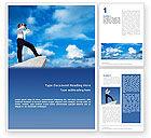 Business Concepts: Modèle Word de perspective future #01788