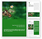 Agriculture and Animals: Rabbit Word Template #01815