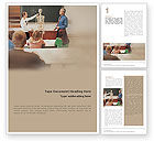 Education & Training: Anatomy Class Word Template #01841