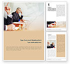 Business: Annual Board Meeting Word Template #01966