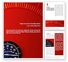 Sports: Speedometer Word Template #01985