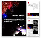 Education & Training: Astronomical Research Word Template #02005