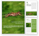Agriculture and Animals: Wild Life Word Template #02015